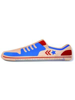Линейка Donkey Star. Цвет: синий, светло-коричневый, красный