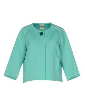 Пиджак SO NICE. Цвет: светло-зеленый