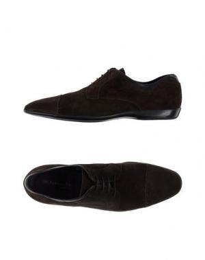 Обувь на шнурках FABIANO RICCI. Цвет: какао