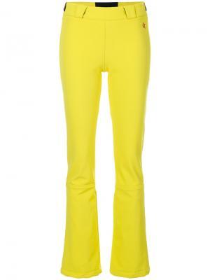 Расклешенные брюки Ancelle Perfect Moment. Цвет: жёлтый и оранжевый