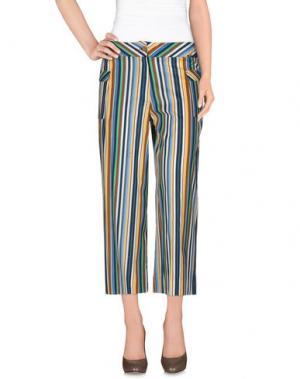Повседневные брюки ALAN RED. Цвет: темно-синий