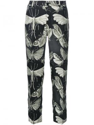 Укороченные брюки с принтом F.R.S For Restless Sleepers. Цвет: многоцветный