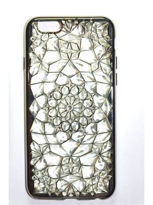 Чехол для Iphone 5/ 5S Punta. Цвет: серебристый