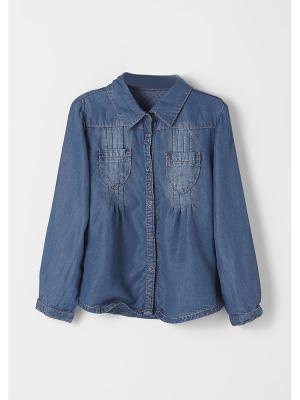 Блузка S.OLIVER. Цвет: голубой