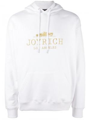 Толстовка с вышивкой логотипа Joyrich. Цвет: белый