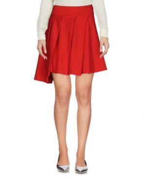 Мини-юбка CLIÓ. Цвет: красный