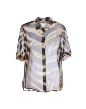 Pубашка ANGELO MARANI. Цвет: песочный