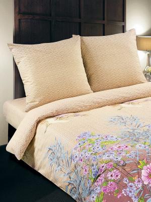 Комплект постельного белья Арт Постель. Цвет: светло-бежевый