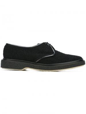 Туфли на шнуровке Type 1 Adieu Paris. Цвет: чёрный
