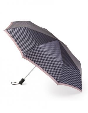 Зонт aвтомат Жаккард Henry Backer. Цвет: серый