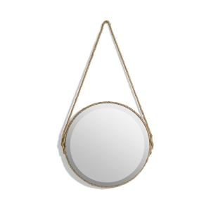 Зеркало Lien, диаметр 35 см AM.PM.. Цвет: серо-бежевый,черный