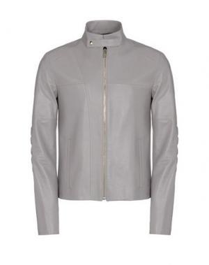 Куртка GIULIANO FUJIWARA. Цвет: голубиный серый