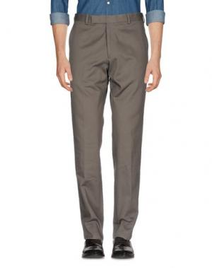 Повседневные брюки RICHARD JAMES. Цвет: зеленый-милитари