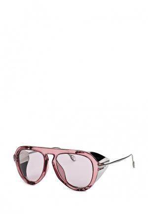 Очки солнцезащитные Gucci. Цвет: розовый