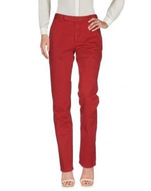 Повседневные брюки AUTHENTIC ORIGINAL VINTAGE STYLE. Цвет: красный