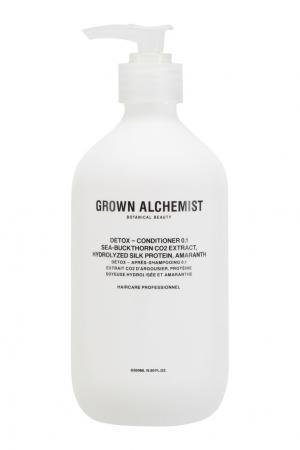 Детокс-кондиционер для волос 0.1 Detox 500ml Grown Alchemist. Цвет: multicolor