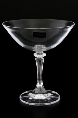 Набор бокалов для мартини Crystalite Bohemia. Цвет: прозрачный