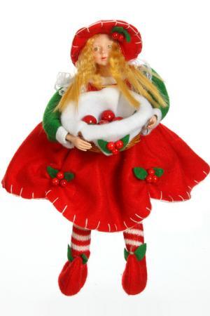 Кукла Фея Вишня, 8 см Davana. Цвет: красный