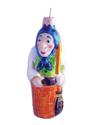 Ёлочное украшение Баба Яга h- 11см Карнавал-Премьер. Цвет: прозрачный