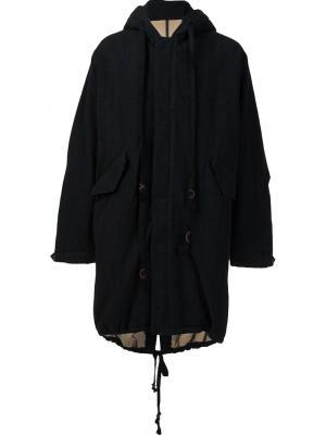 Пальто Paul Uma Wang. Цвет: чёрный