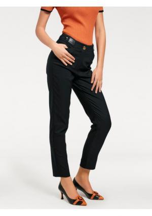 Моделирующие брюки ASHLEY BROOKE by Heine. Цвет: черный