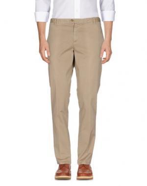 Повседневные брюки TAKESHY KUROSAWA. Цвет: верблюжий