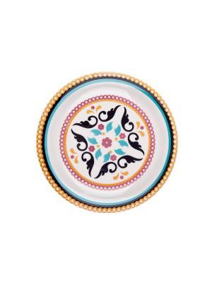 Набор тарелок десертных ТОДО 20 см 6 шт Biona. Цвет: белый