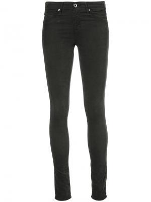 Skinny fit corduroy trousers Ag Jeans. Цвет: зелёный