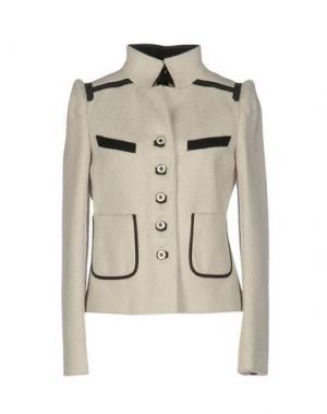 Пальто 6267. Цвет: светло-серый