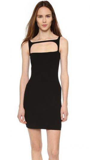 Платье без рукавов DSQUARED2. Цвет: голубой