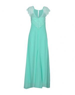 Длинное платье PATRIZIA PEPE SERA. Цвет: светло-зеленый