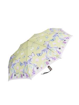 Зонт Slava Zaitsev. Цвет: зеленый