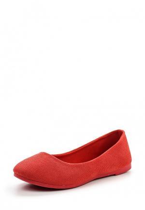 Балетки Sweet Shoes. Цвет: красный