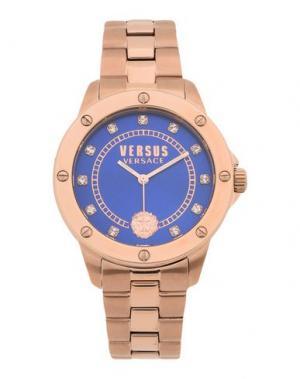 Наручные часы VERSUS VERSACE. Цвет: синий