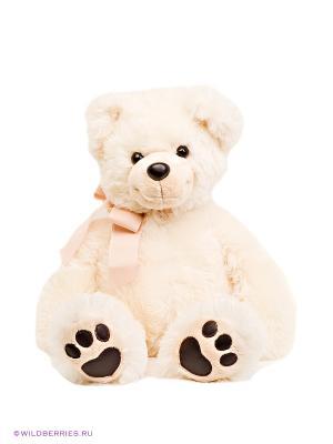 Мягкая игрушка Медведь AURORA. Цвет: кремовый