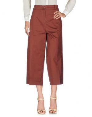 Повседневные брюки GARAGE NOUVEAU. Цвет: какао