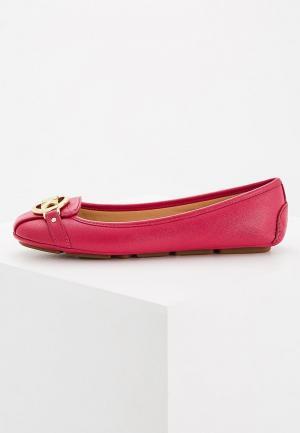 Балетки Michael Kors. Цвет: розовый