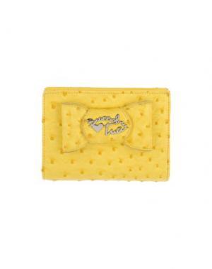 Бумажник TUA BY BRACCIALINI. Цвет: желтый