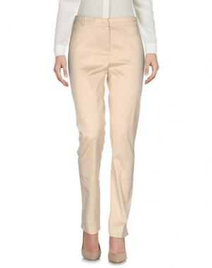 Повседневные брюки ROBERTA SCARPA. Цвет: бежевый