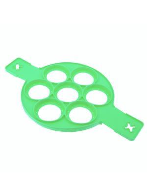 Форма для омлетов и оладьев Аппетито RUGES. Цвет: зеленый