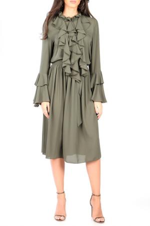 Платье CARLA BY ROZARANCIO. Цвет: khaki