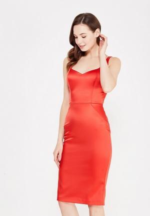 Платье Love Republic. Цвет: красный