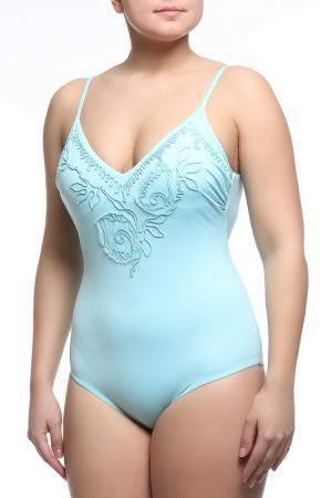 Купальный костюм Emamo. Цвет: голубой