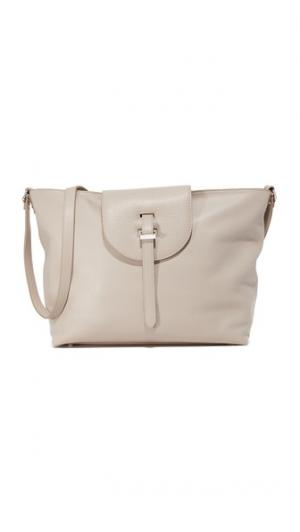 Объемная сумка с короткими ручками Ludovica meli melo