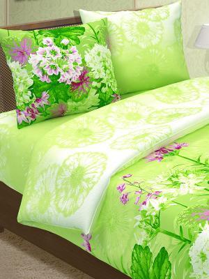 Комплект постельного белья Магия Ночи. Цвет: салатовый