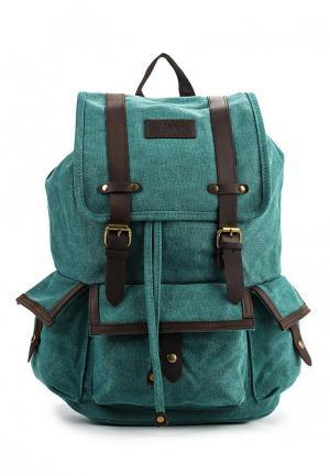 Рюкзак Polar. Цвет: бирюзовый