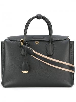 Большая сумка-тоут Milla MCM. Цвет: чёрный