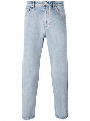Зауженные джинсовые брюки 3.1 Phillip Lim. Цвет: синий
