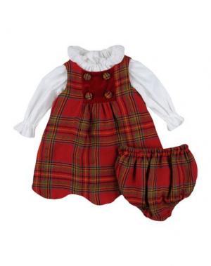 Платье LA STUPENDERIA. Цвет: кирпично-красный