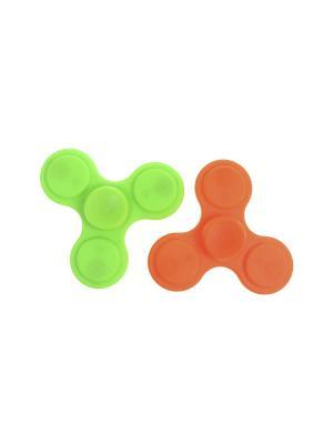 Комплект (Спиннер - 2 шт.) Happy Charms Family. Цвет: зеленый, оранжевый